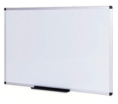 VIZ-PRO Magnetic Whiteboard/Dry Erase Board, 48 X 36 Inches