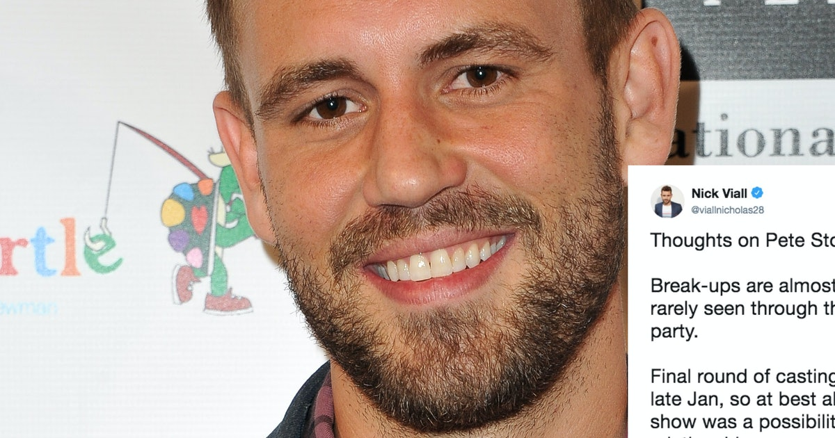 Nick Viall Defended Peter From 'The Bachelorette' Amid His Ex-Girlfriend's Recent Claims