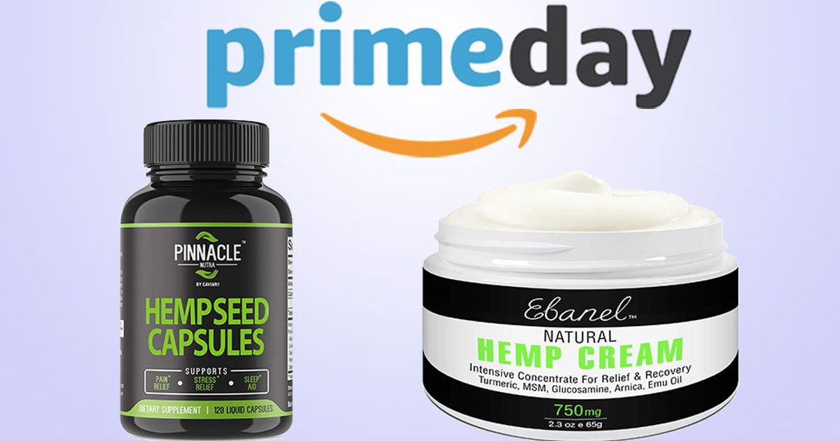 Awesome Hemp Products On Sale Today For Amazon Prime Day