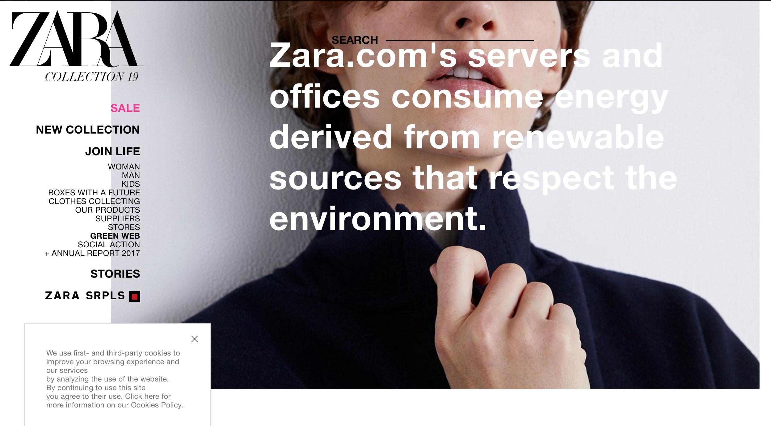 Zara Clothing Annual Report 2017