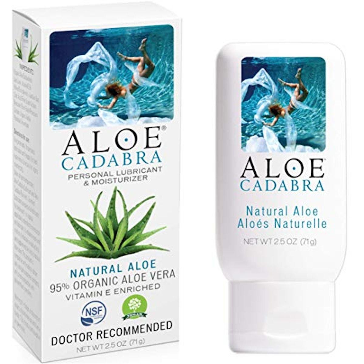 Aloe Cadabra Natural Personal Lube, 95% Organic Aloe Vera
