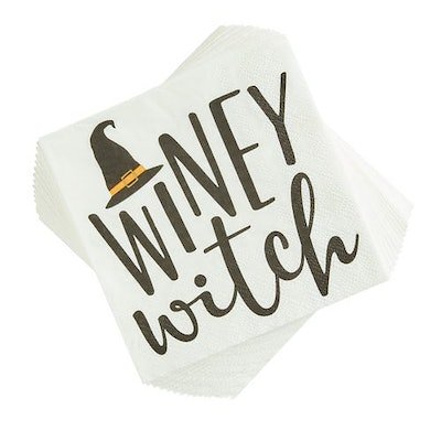Winey Witch Cocktail Napkins