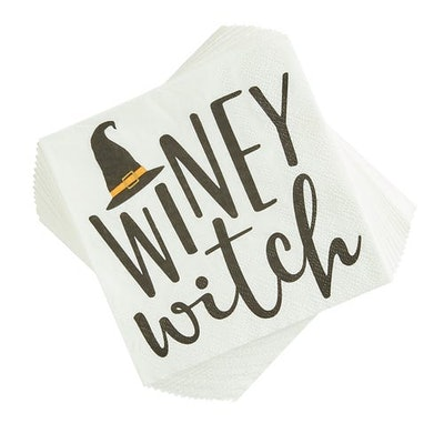 Winey Witch Cocktail Napkins