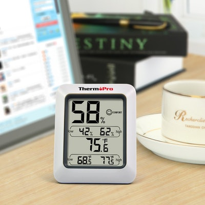 ThermoPro TP50 Digital Indoor Thermometer & Humidity Gauge