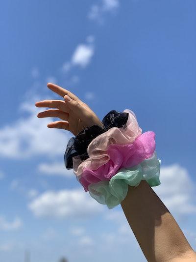 Mini Cloud Scrunchie