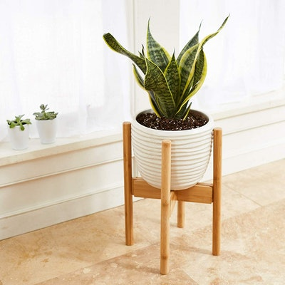 Vigor & Innovation Wooden Plant Stand