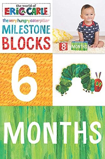 The Very Hungry Caterpillar Milestone Blocks