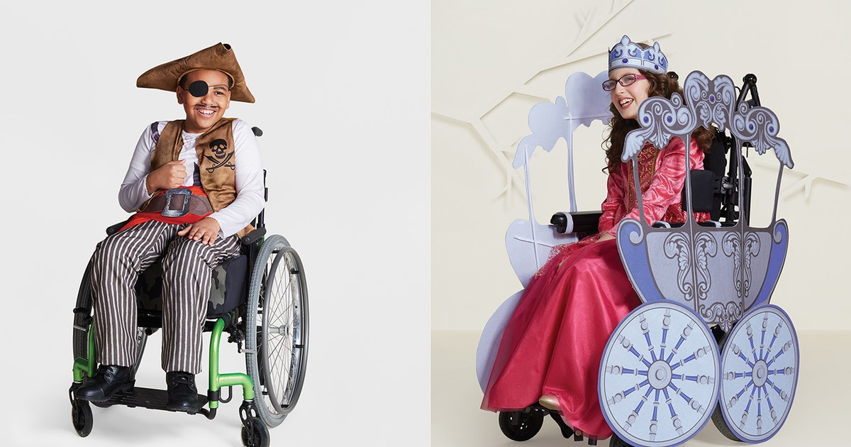 Target's Wheelchair-Adaptive Halloween Costumes For Kids Are Available For Preorder