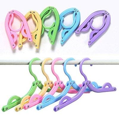 Trubetter Foldable Travel Hangers (10 Pack)