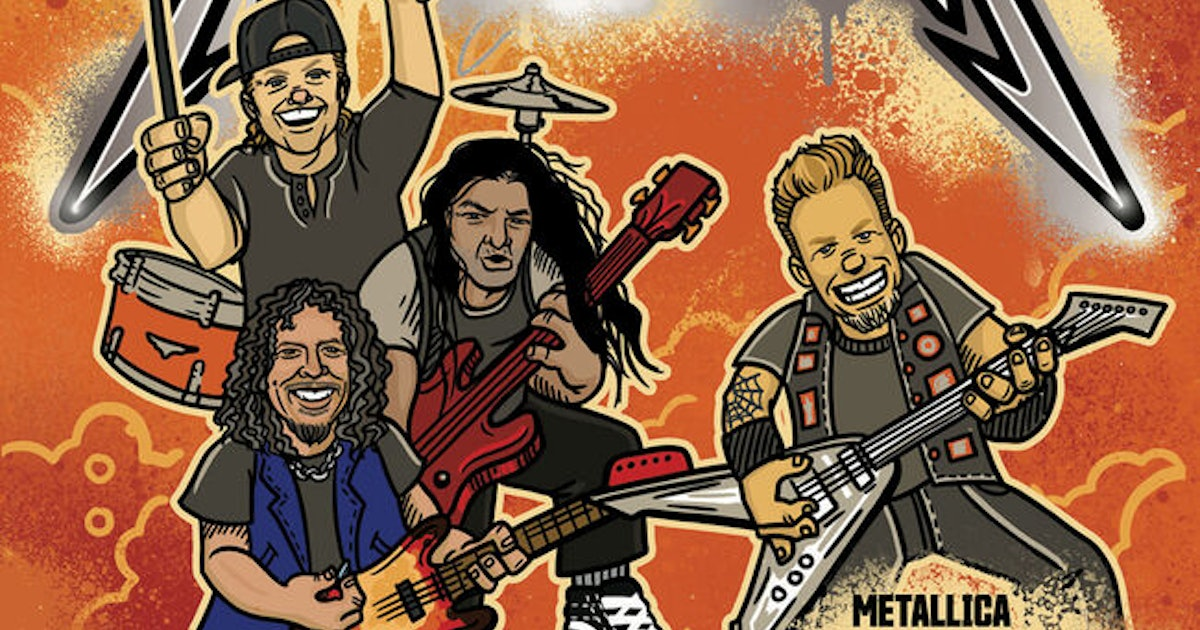 Metallica Is Releasing A Children's Book Full Of Rhymes & Fun Illustrations For A Worthy Cause