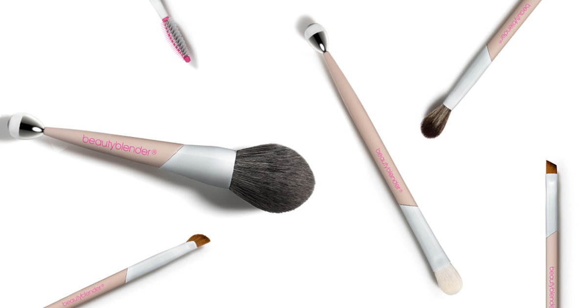 Where To Get Beautyblender's Makeup Brushes, Which Feature Some Very Cool Built-In Tools