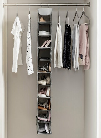 Zober 10-Shelf Hanging Shoe Organizer