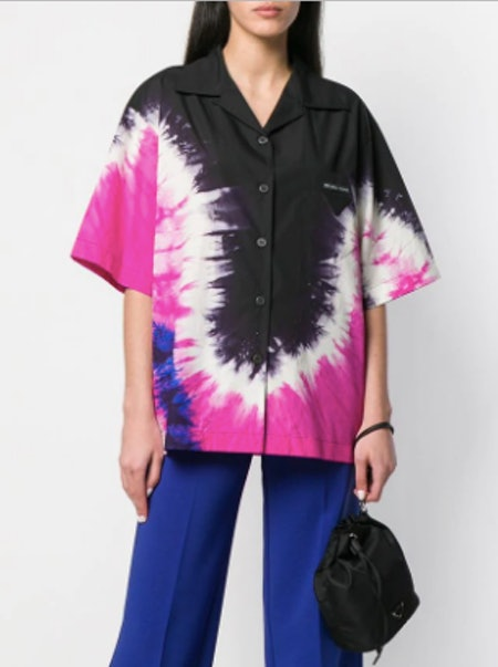 Oversized Tie-Dye Shirt