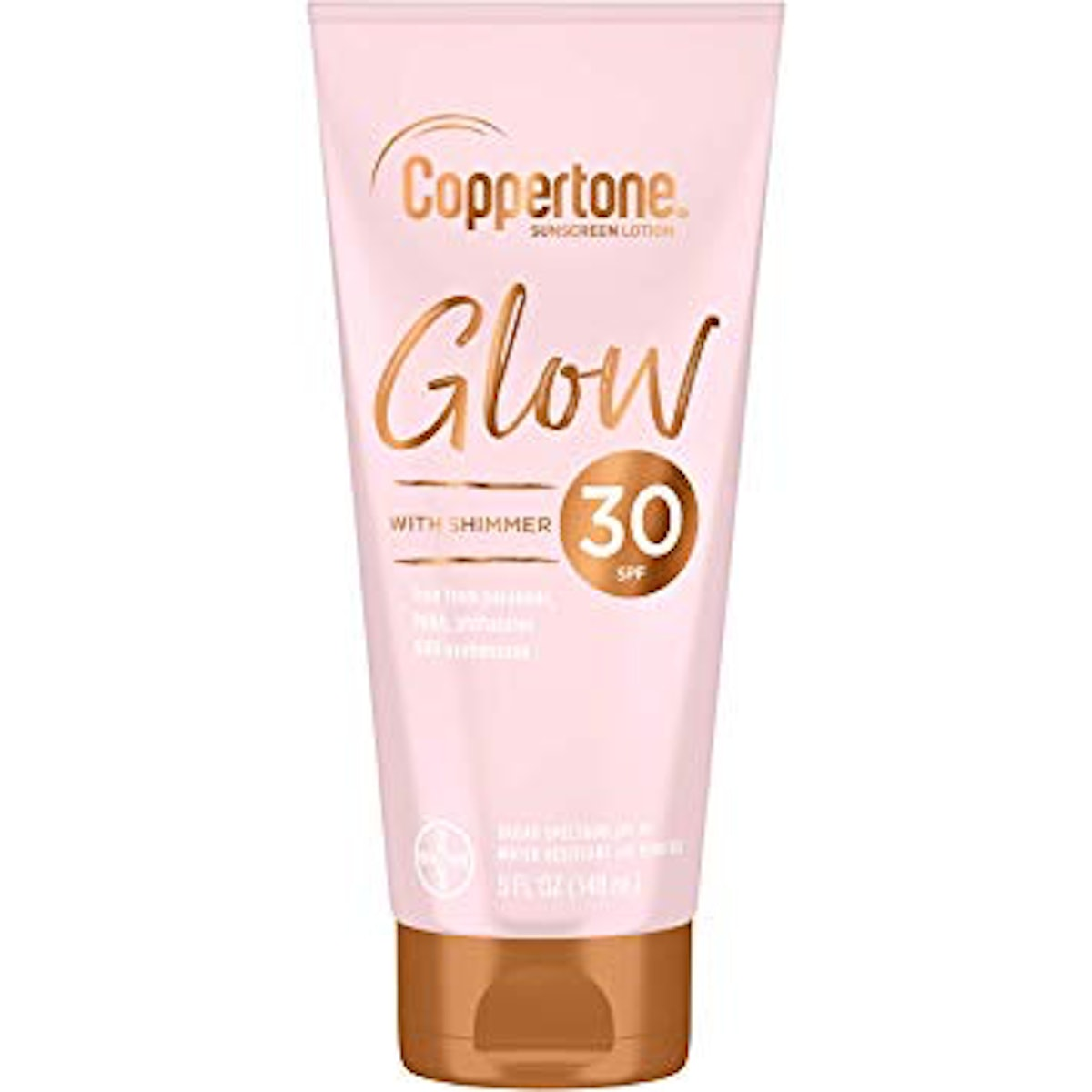 Coppertone Glow Sunscreen Lotion With Illuminating Shimmer Minerals