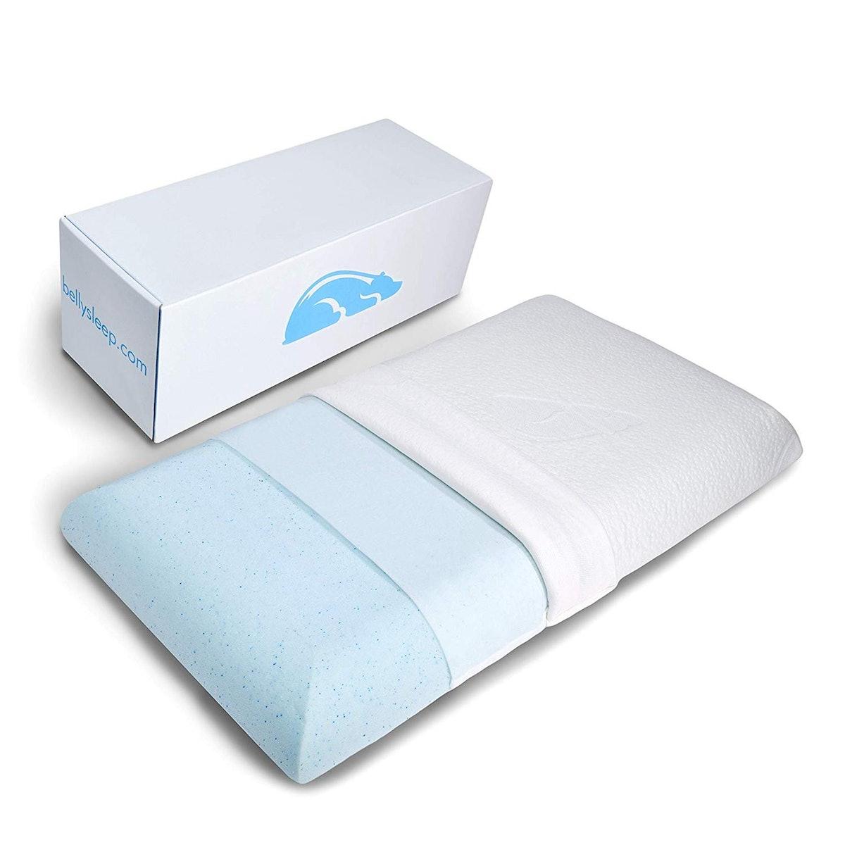Belly Sleep Gel Infused Memory Foam Pillow