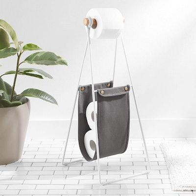 AmazonBasics Free Standing Toilet Paper Stand