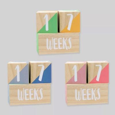 Milestone Wooden Blocks