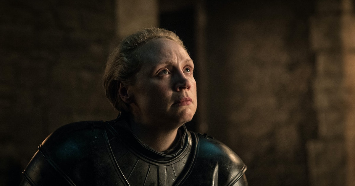Gwendoline Christie's Emmy Nomination Only Happened Because The 'GoT' Star Submitted Herself