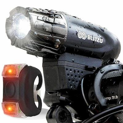 BLITZU Gator 320 USB-Rechargeable Bike Light