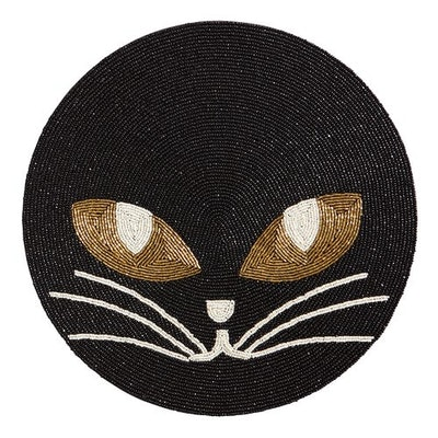 Beaded Cat Placemat