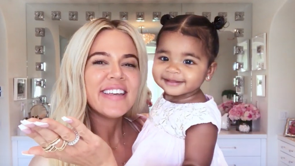 Image result for khloe and true