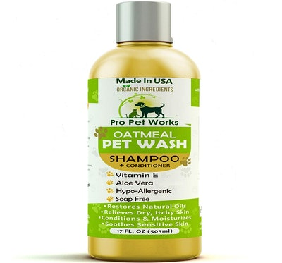 Pro Pet Works Oatmeal Pet Wash Shampoo