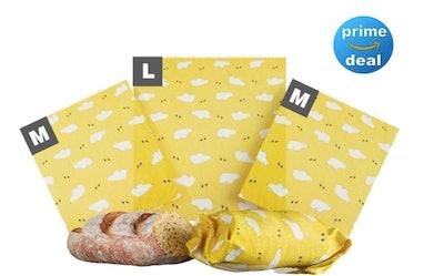 OK Goods Beeswax Reusable Food Wraps (3 Pack)