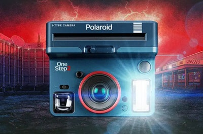 4. OneStep 2 Viewfinder I-Type Camera — 'Stranger Things' Edition