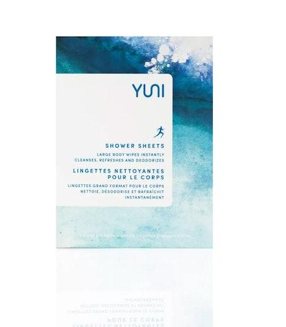 YUNI Shower Sheets Body Wipes
