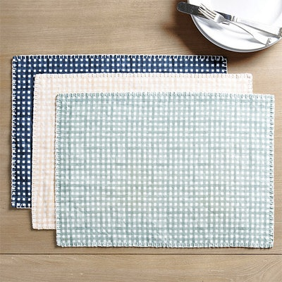 Bitsy Gingham Placemats (Set of 4)