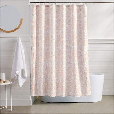 AmazonBasics Blush Bella Shower Curtain