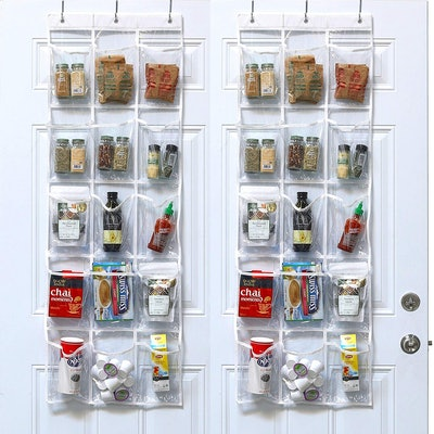 Simple HouseWares Over-the-Door Pantry Organizers (2 Pack)