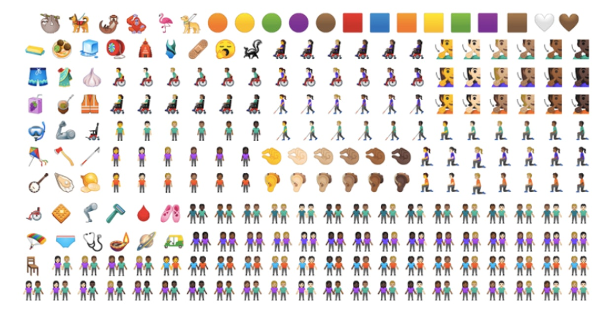 New Emojis For 2019 Are Coming Soon & They're More Inclusive Than Ever