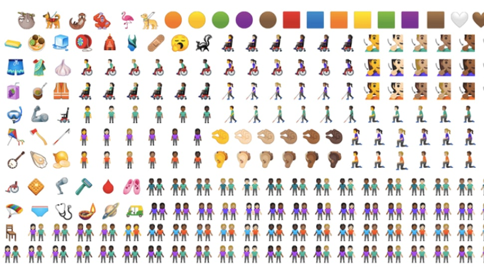 New Emojis For 2019 Are Coming Soon & They're More Inclusive