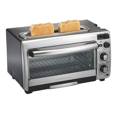 Hamilton Beach 2-In-1 Countertop Oven And Long Slot Toaster