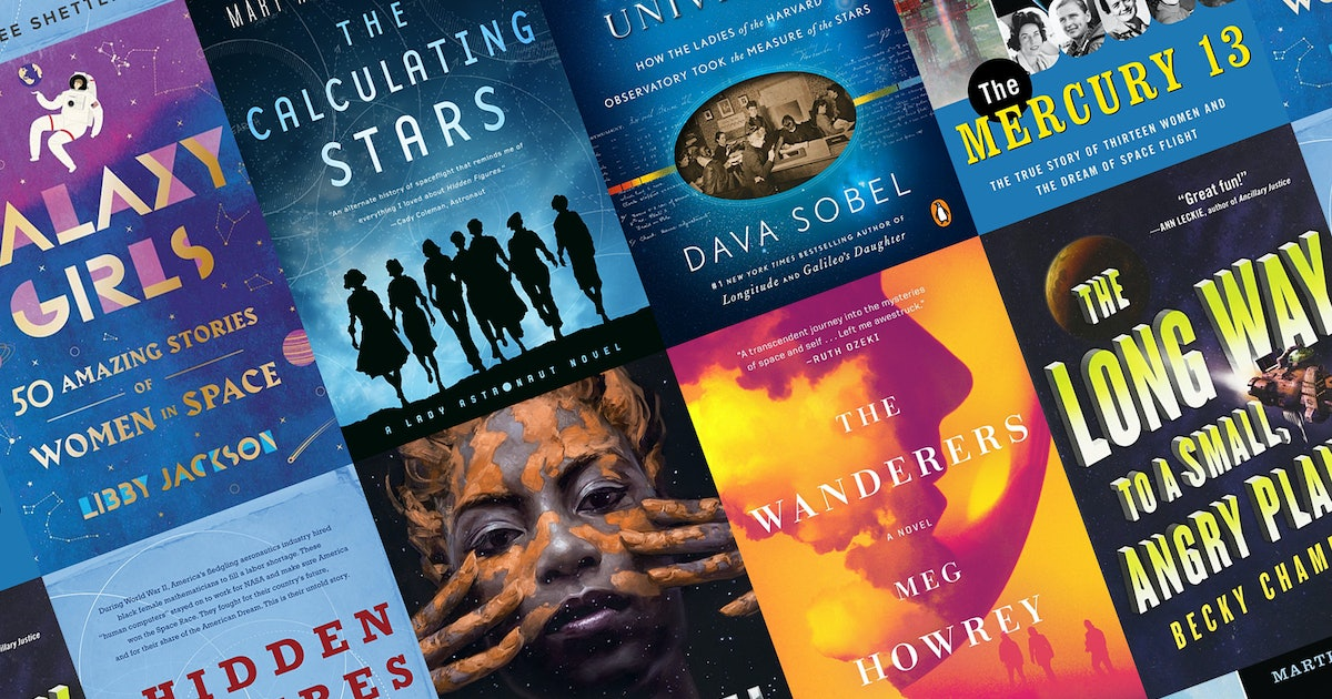 Read About Women In Space In These 10 Novels & Nonfiction Books About The Final Frontier