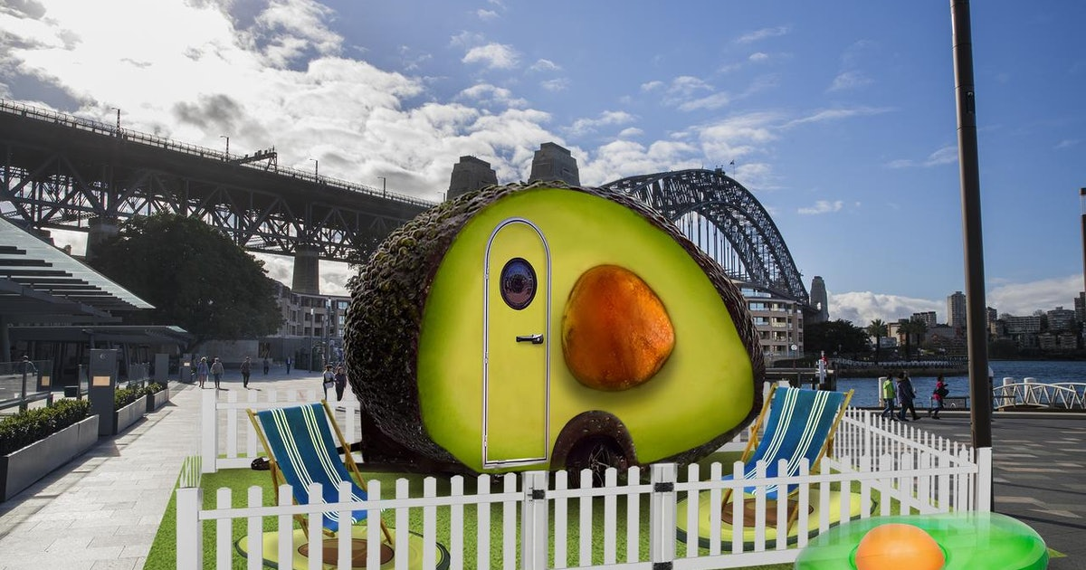 """A Giant Avocado You Can Stay In, Dubbed The """"Avo-Condo,"""" Is Taking Reservations"""