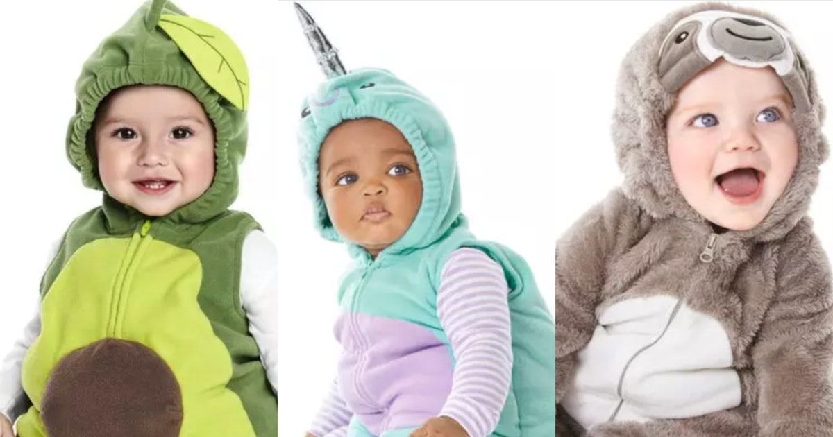 Carter's Halloween 2019 Costumes Are Out, & OMG There Is A *Sloth*