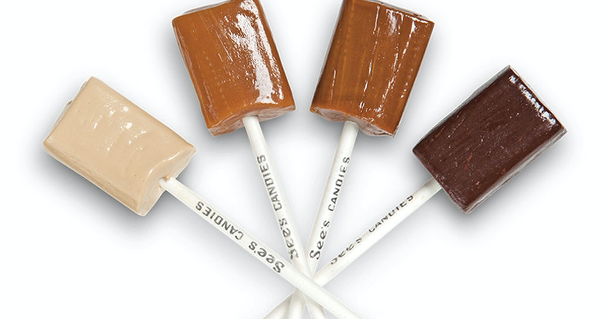 See's Candies Is Giving Out Free Lollipops This Weekend For National Lollipop Day