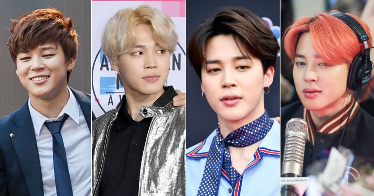 The Evolution Of BTS' Jimin's Hair Is Certifiable Evidence He Can Rock Any Color