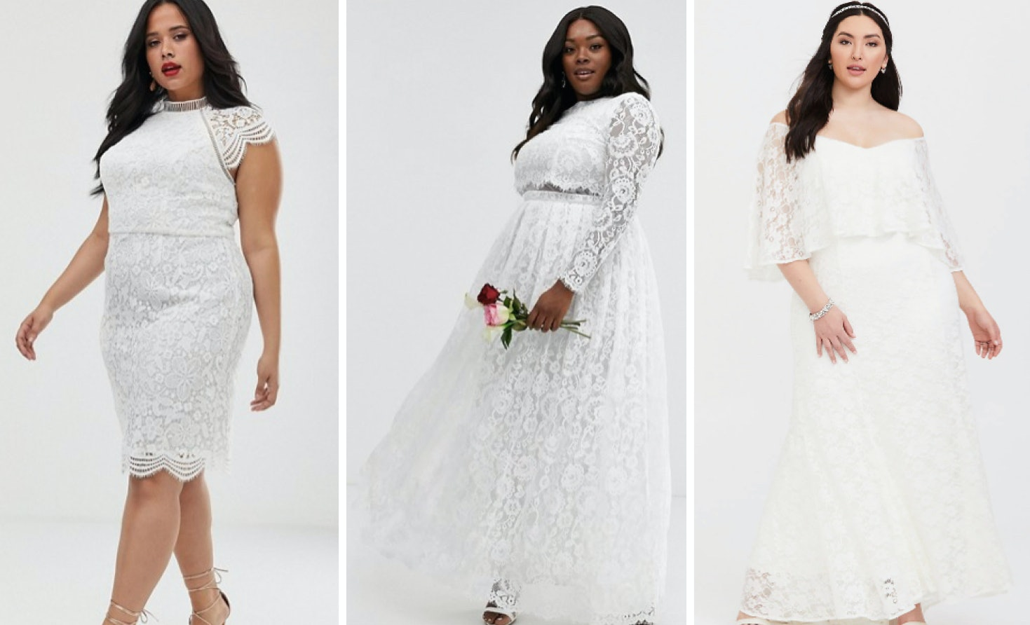 25 Best Plus,Size Wedding Dresses Under £300, Because What