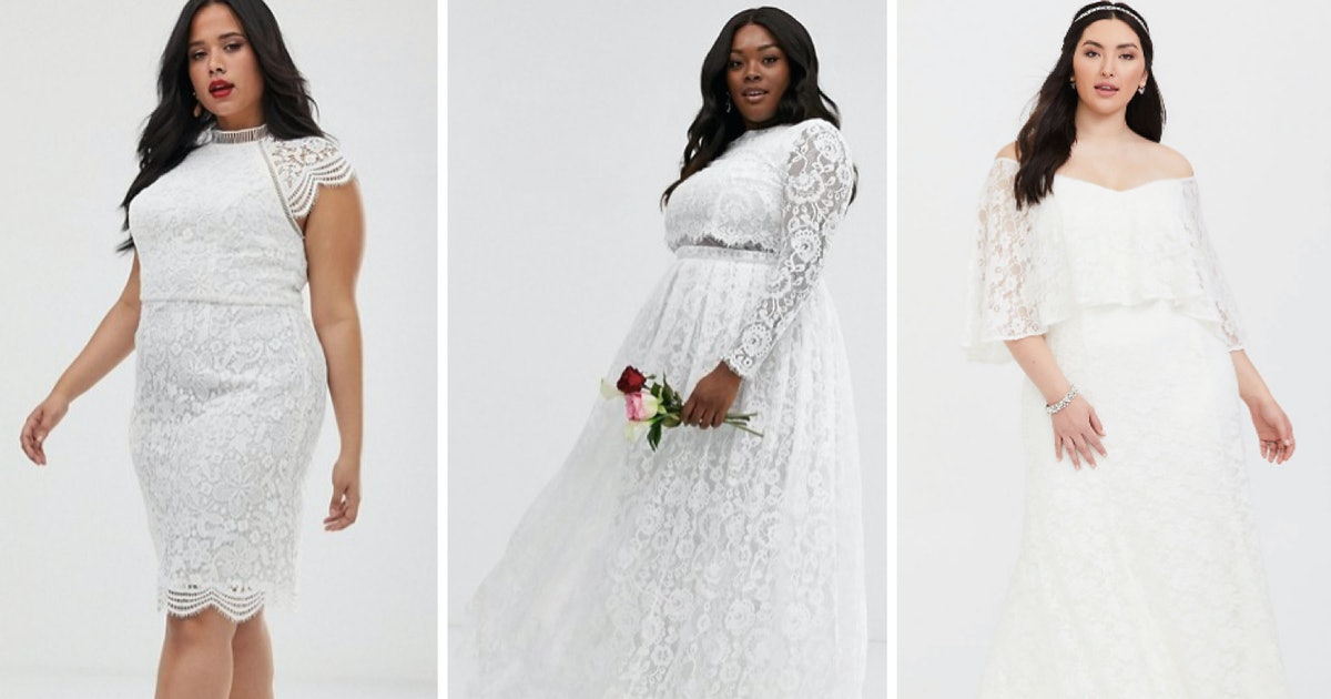 25 Best Plus-Size Wedding Dresses Under £300, Because What You Wear Shouldn't Have To Cost A Month's Rent