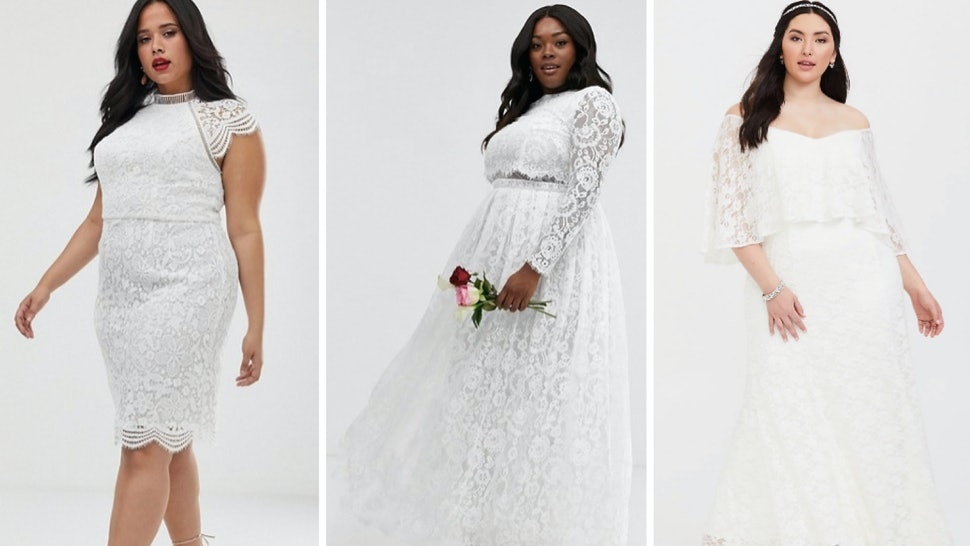 25 Best Plus-Size Wedding Dresses Under £300, Because What ...
