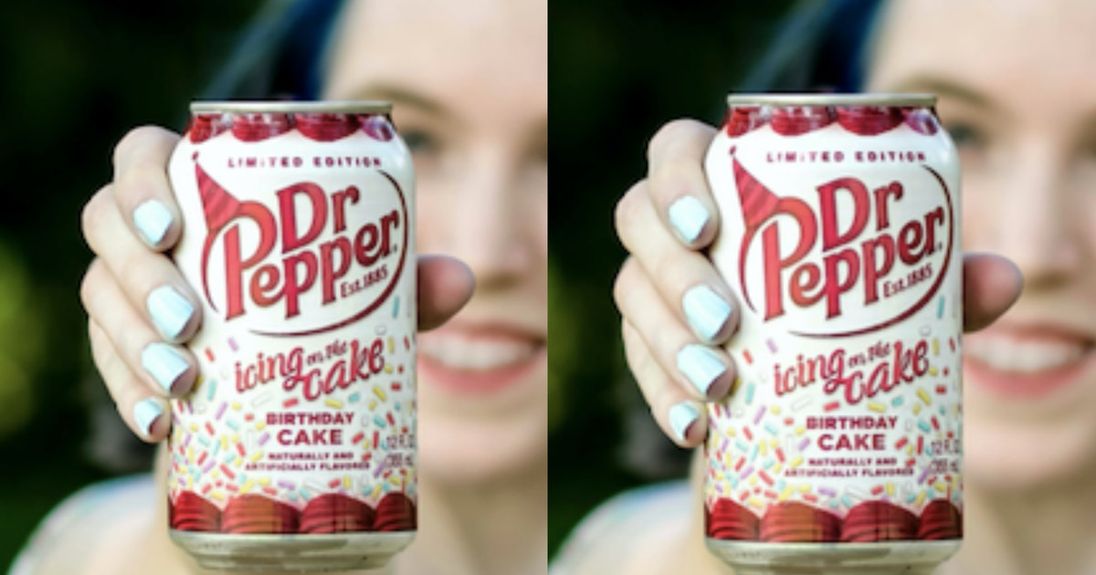 Birthday Cake-Flavored Dr. Pepper Exists — Here's How To Get It