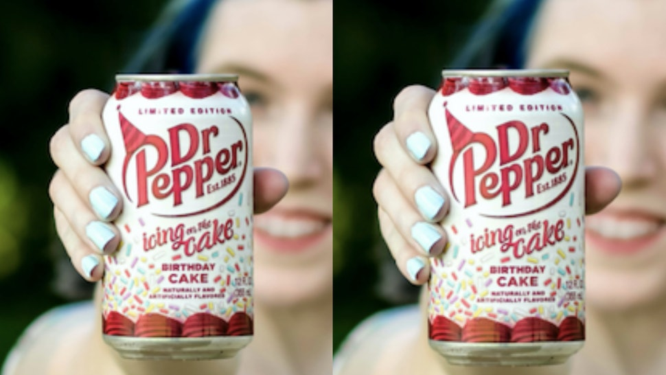 Fabulous Birthday Cake Flavored Dr Pepper Exists Heres How To Get It Personalised Birthday Cards Bromeletsinfo