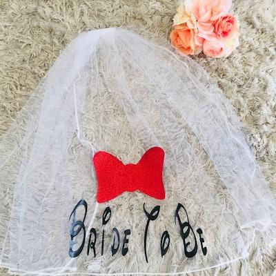 Disney Bride To Be Bachelorette Veil Disney