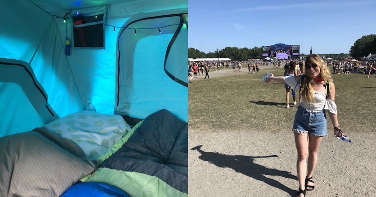 These Camping Tips I Learned At A Music Festival Will Turn You Into An Outdoor Pro