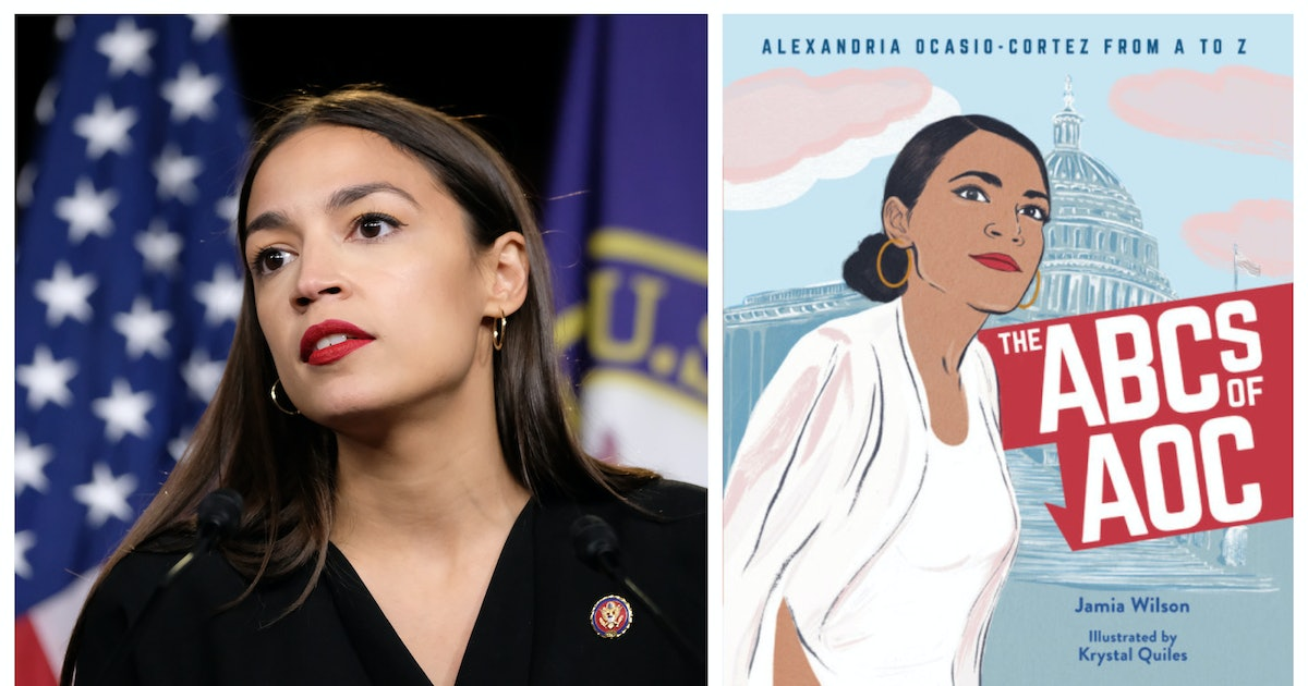 The Alexandria Ocasio-Cortez Kids' Book For Tiny Democratic Socialists — EXCLUSIVE LOOK