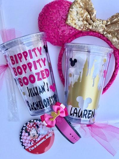 Disney Bachelorette Party Cups