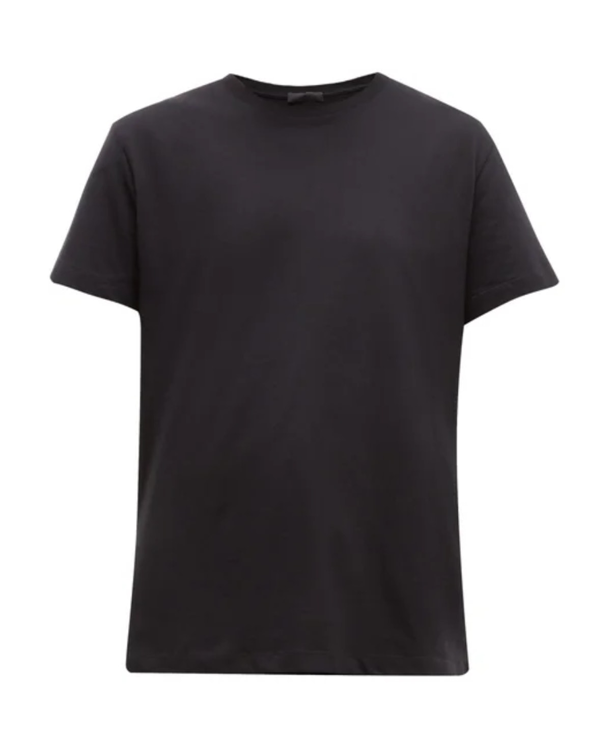 Round-Neck Cotton T-Shirt